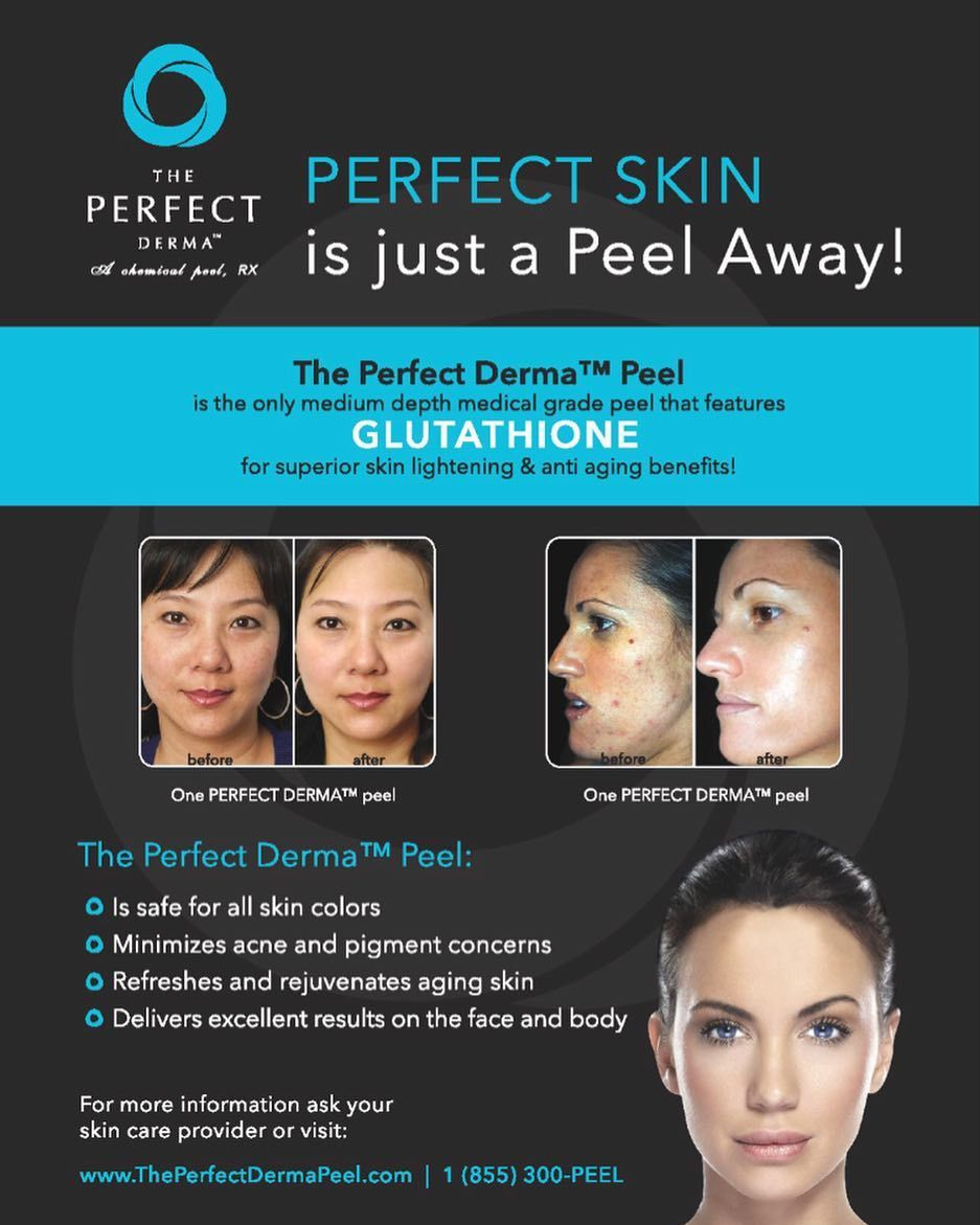 The Perfect Derma Peel is the only Medical Grade Peel with
