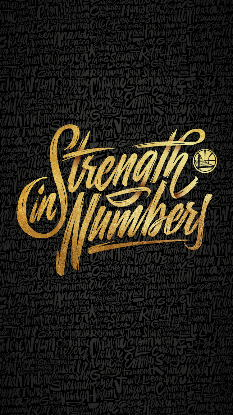 Strength In Numbers Font Forum Golden State Warriors Wallpaper Warriors Wallpaper Golden State Warriors Basketball