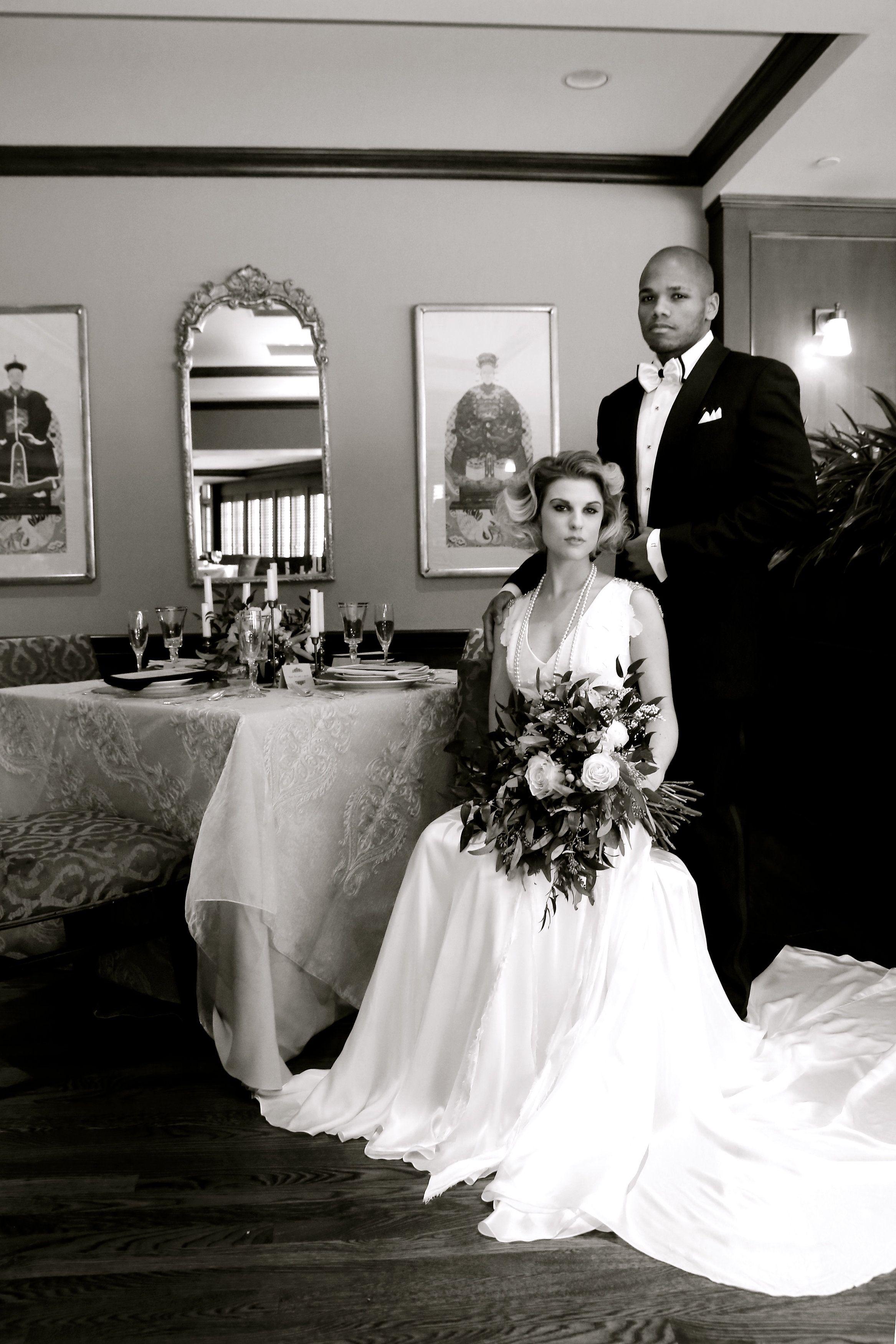 1920's Inspired Wedding Jazzymae Photography