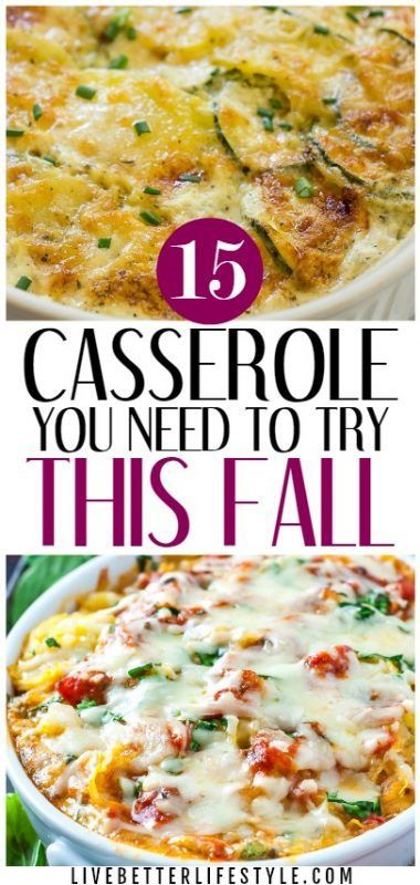15 Casserole Recipes You Need to Try This Fall images