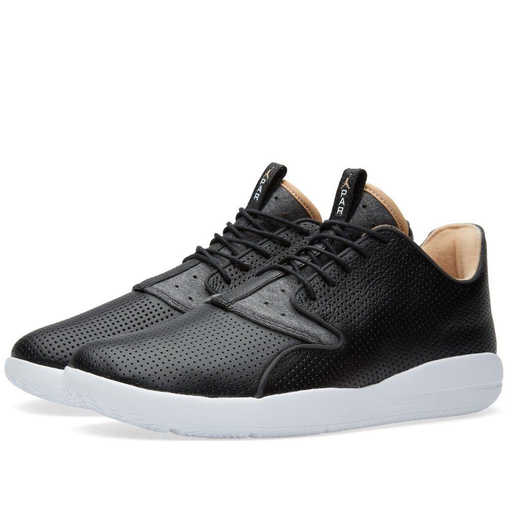Black · Nike Jordan Eclipse Leather 'Paris' (Black, Vachetta Tan & White)