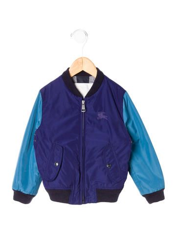 Burberry Boys' Colorblock Jacket