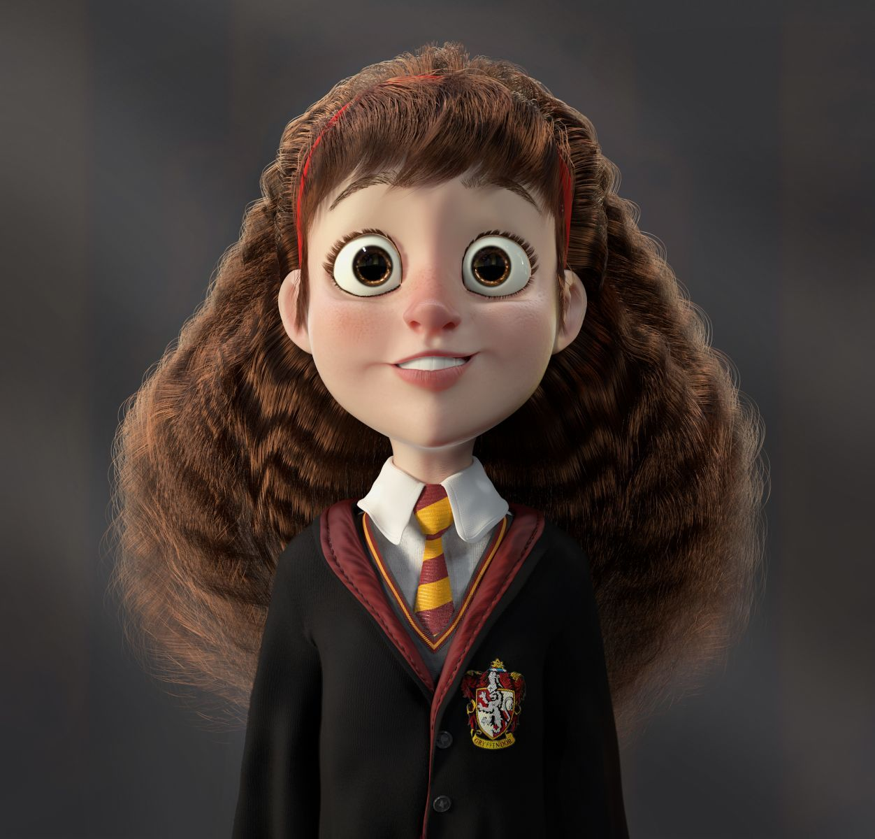 srta granger - cartoon - 3d - cg gallery - computer graphics forum