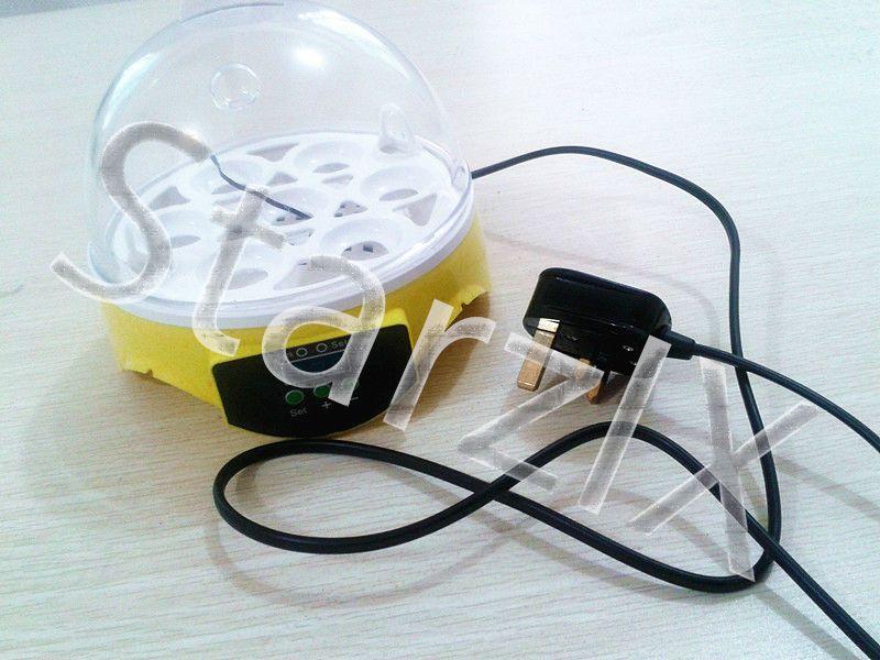 DescriptionFeaturesAutomatic Digital Egg IncubatorHolds 7