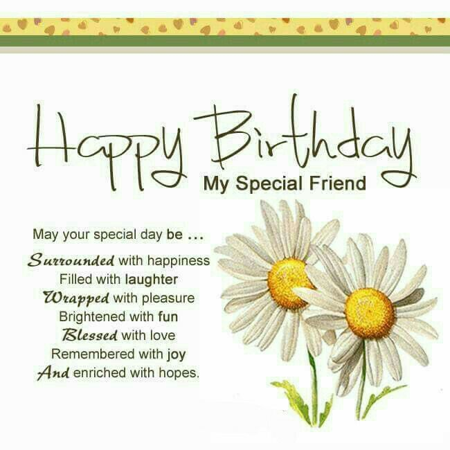 Pin by petro geldenhuys on happy birthday pinterest happy birthday birthday messages for a special friend long birthday wishes to friend m4hsunfo Choice Image