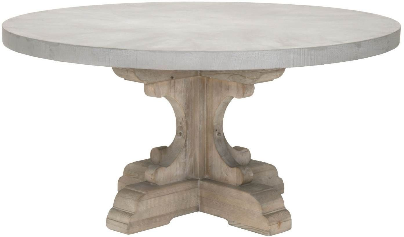 1stopbedrooms Com Round Concrete Dining Table Concrete Dining