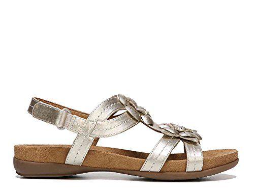 4e8038cce20e Naturalizer NaturalSoul Natural Soul Womens Avril Sandals Size 85 M  Platinum Silver     BEST VALUE BUY on Amazon  Sandals
