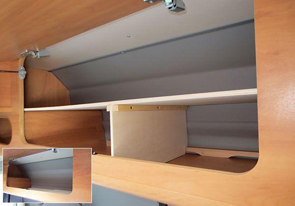 Wohnmobil Schranke Vergrossern Verbessern Bessere Platzausnutzung Wohnwagen Dekoration Wohnmobil Possl Wohnmobil