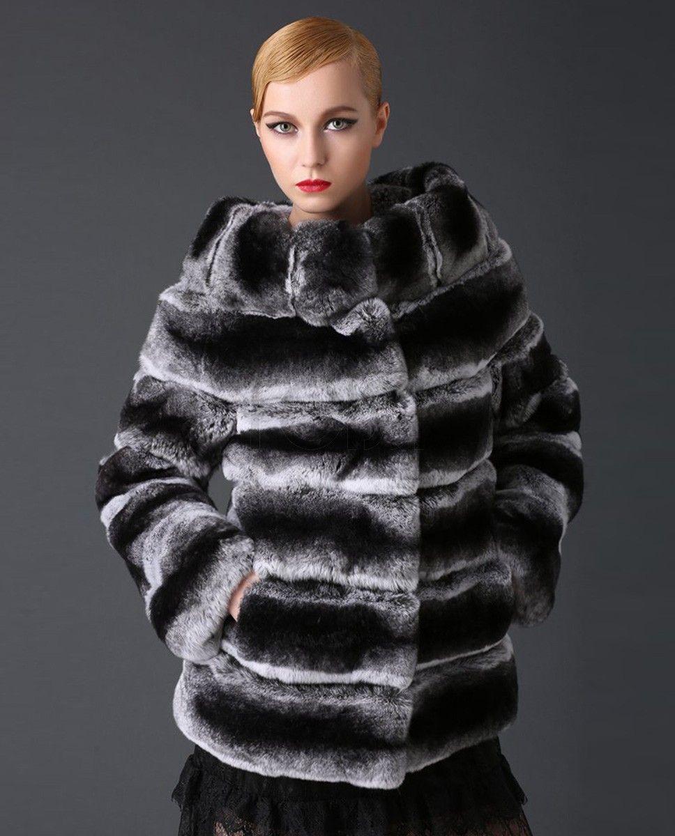 Chinchilla coats Rabbit fur coat for chinchilla 21