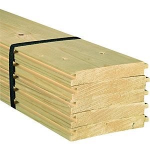 18mm X 119mm X 1800mm Pack Of 5 Wickes Co Uk Wickes Floorboards Timber