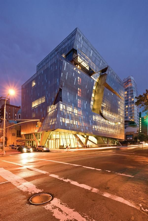 AIA Winners 41 Cooper Square Architect: Morphosis Architects Owner: The  Cooper Union Location: New York City