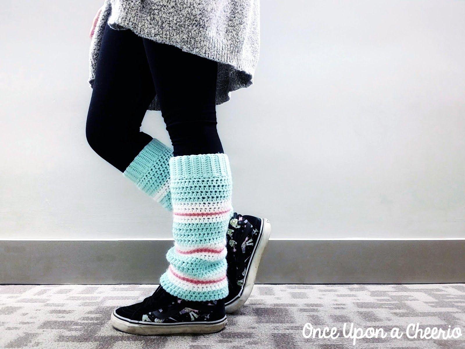 Sugar Rush Leg Warmers Crochet Pattern | Crochet niños | Pinterest ...
