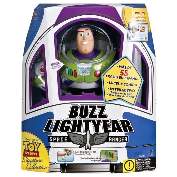 Buzz Lightyear Thinkway Mas De 55 Frases En Español Precio S