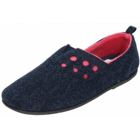 0bcfac4c778e Padders Riva Dual Wide Fitting Washable Felt Slippers - Padders from Jenny-Wren  Footwear UK