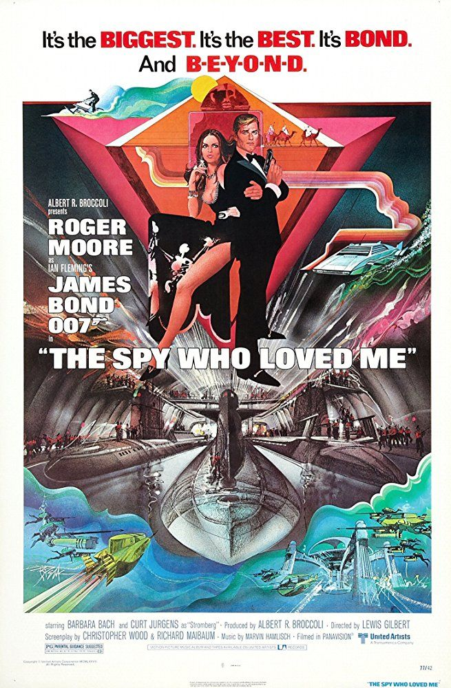 007 O Espiao Que Me Amava The Spy Who Loved Me Lewis Gilbert