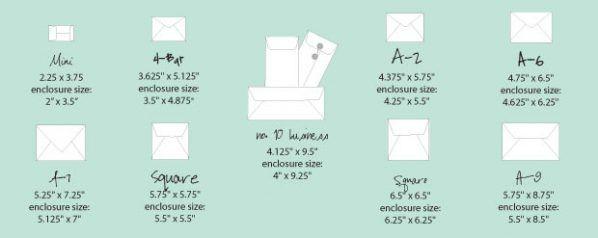 envelope sizes for wedding invitation paper party invitation ideas