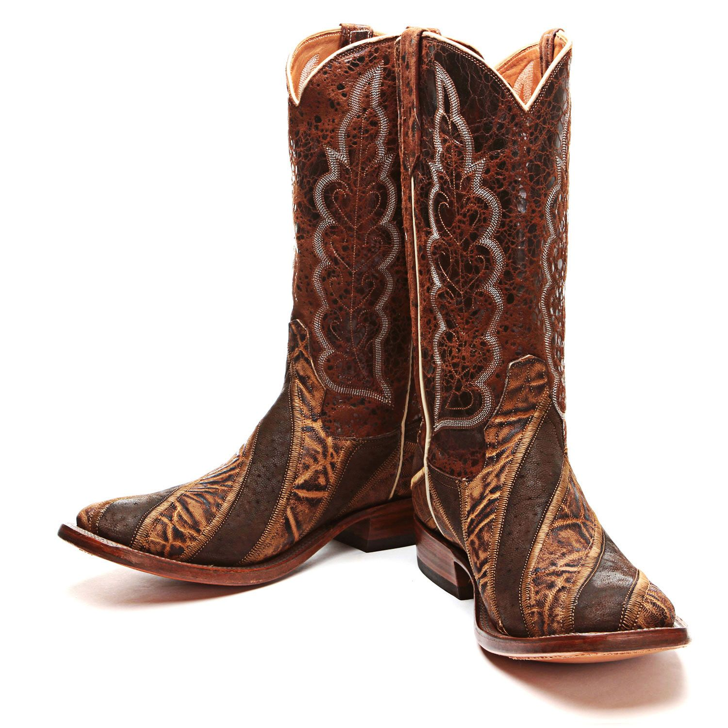 BootDaddy Collection with Rios of Mercedes Elephant Cowboy