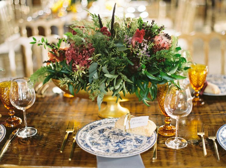 Autumn wedding centerpieces | fabmood.com