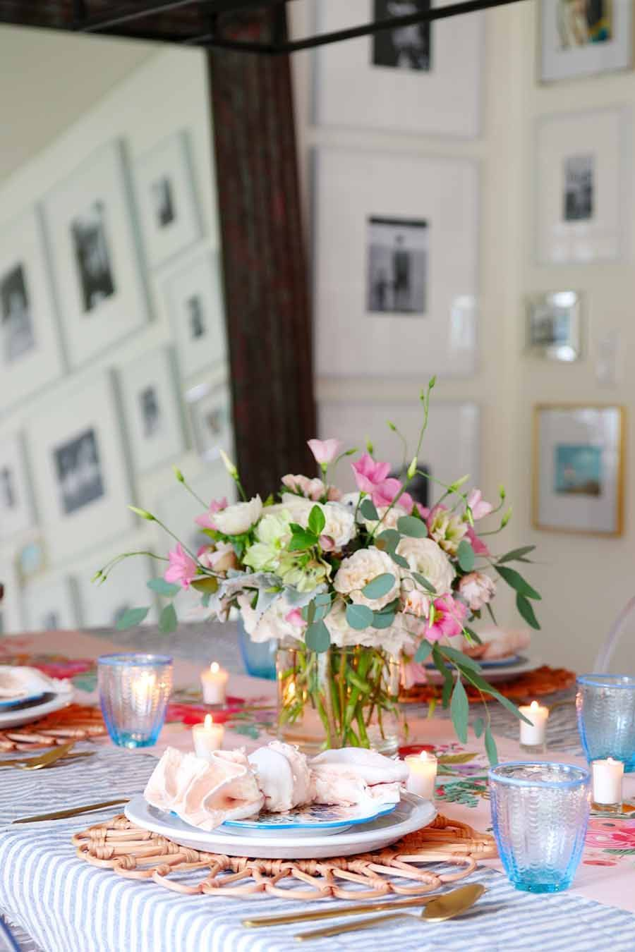 Decor Ideas Using Glass Jars Hallway Decor Ideas Uk Decor With Ideas Decor Ideas For 70th Birthday In 2020 Spring Table Settings Spring Table Easter Table Settings