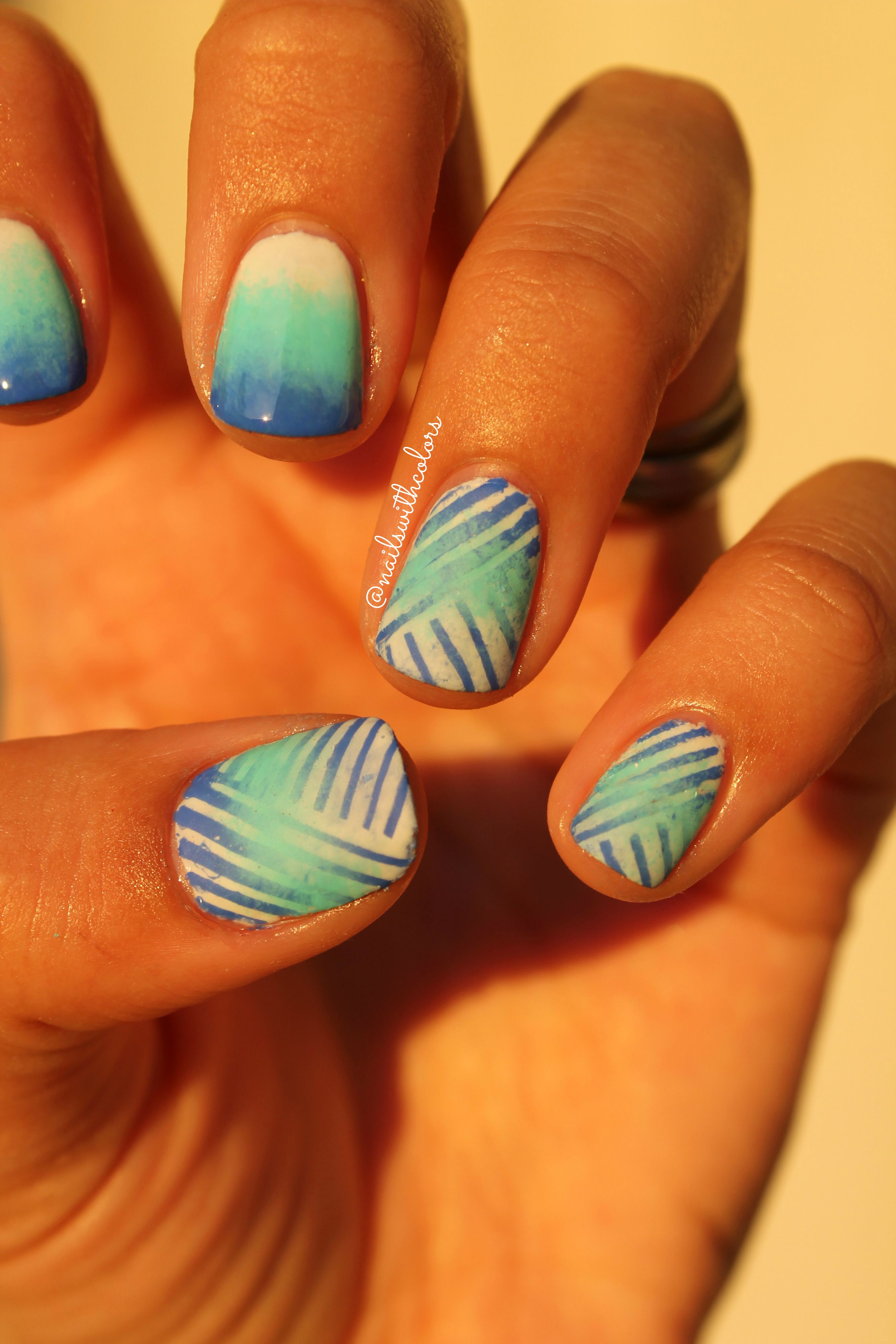 reciprocalgradient inspired by the goddess of nail art gradients ...