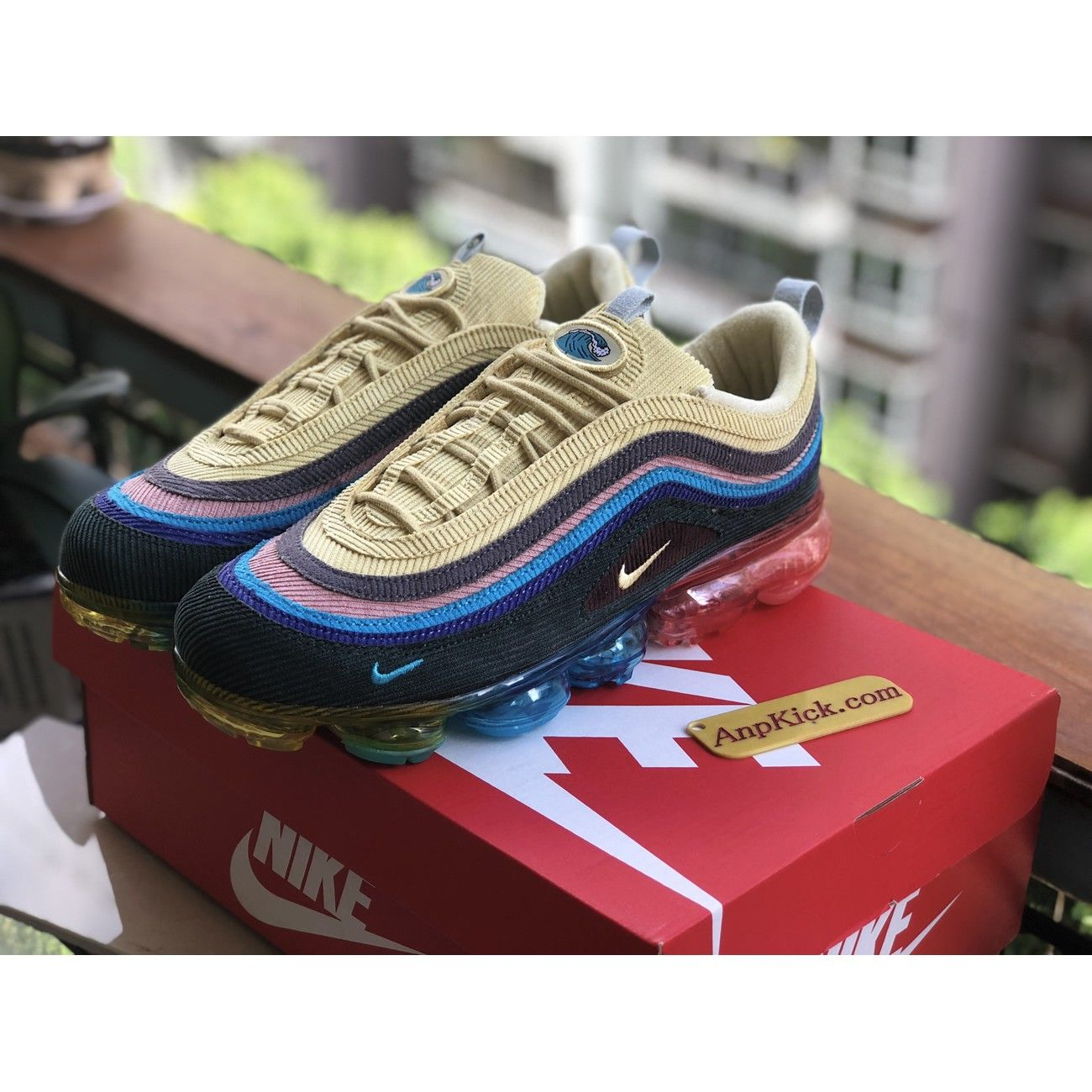 online retailer f0d22 5475c Sean Wotherspoon x Nike Air VaporMax 97 VF SW AJ7291-400 ...