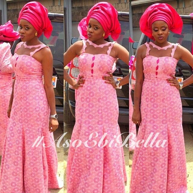 Get The Glamorous Diva Look With The Trendsetting Aso Ebi Styles That Rock  - Wedding Digest Naija