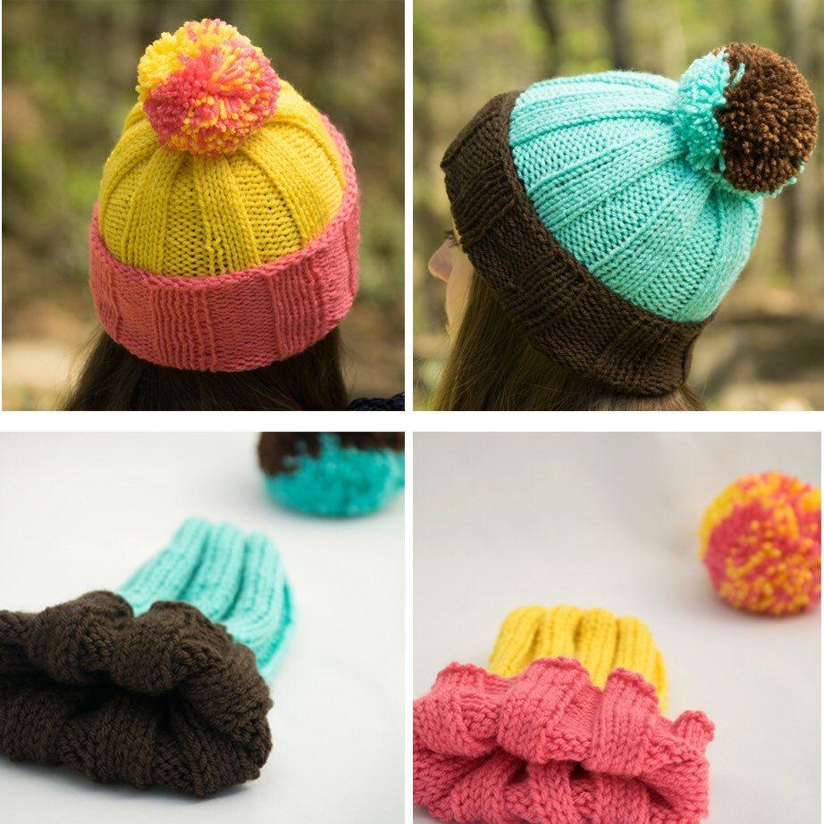 Satin Lined Rib Knit Beanie - Acrylic Winter Hat for Men   Women - Lined  Toboggan or Ski Hat - Pom Pom Sold Separately - Customized Hat 59e2b41f85b6