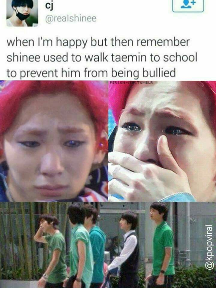 Awww Key Don T Cry But No Joke This Is So Cute Shinee Shinee Jonghyun Kpop Memes
