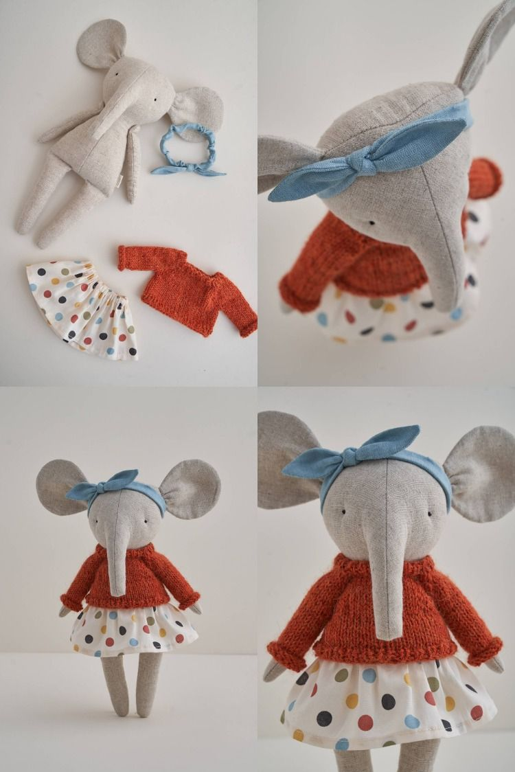 Photo of stuffed elephant toy