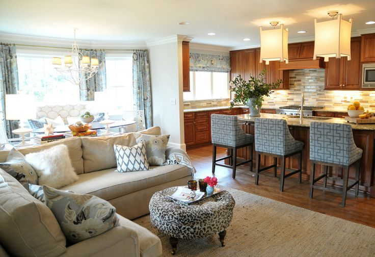 Open Concept Kitchen Living Room Design Ideas Open Concept Kitchen Living Room Open Concept Kitchen Living Room Small Open Living Room
