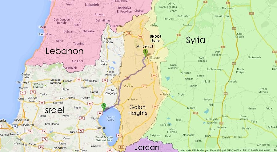 Israeli Warplanes Launch Missile Attack on Syrian Army in ...