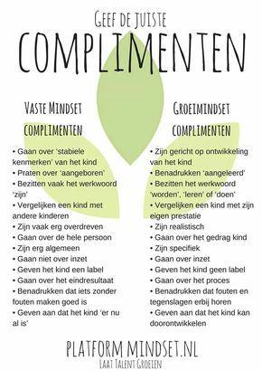 spreuken over complimenten Groeimindset en complimenten   spreuken   Growth mindset, Mindset  spreuken over complimenten
