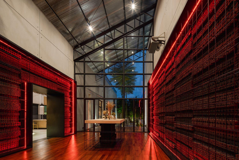 Gallery Of Grillicious Restaurant Forx Design Studio 12 In 2020 Landscape Architecture Design Restaurant Tropical Architecture