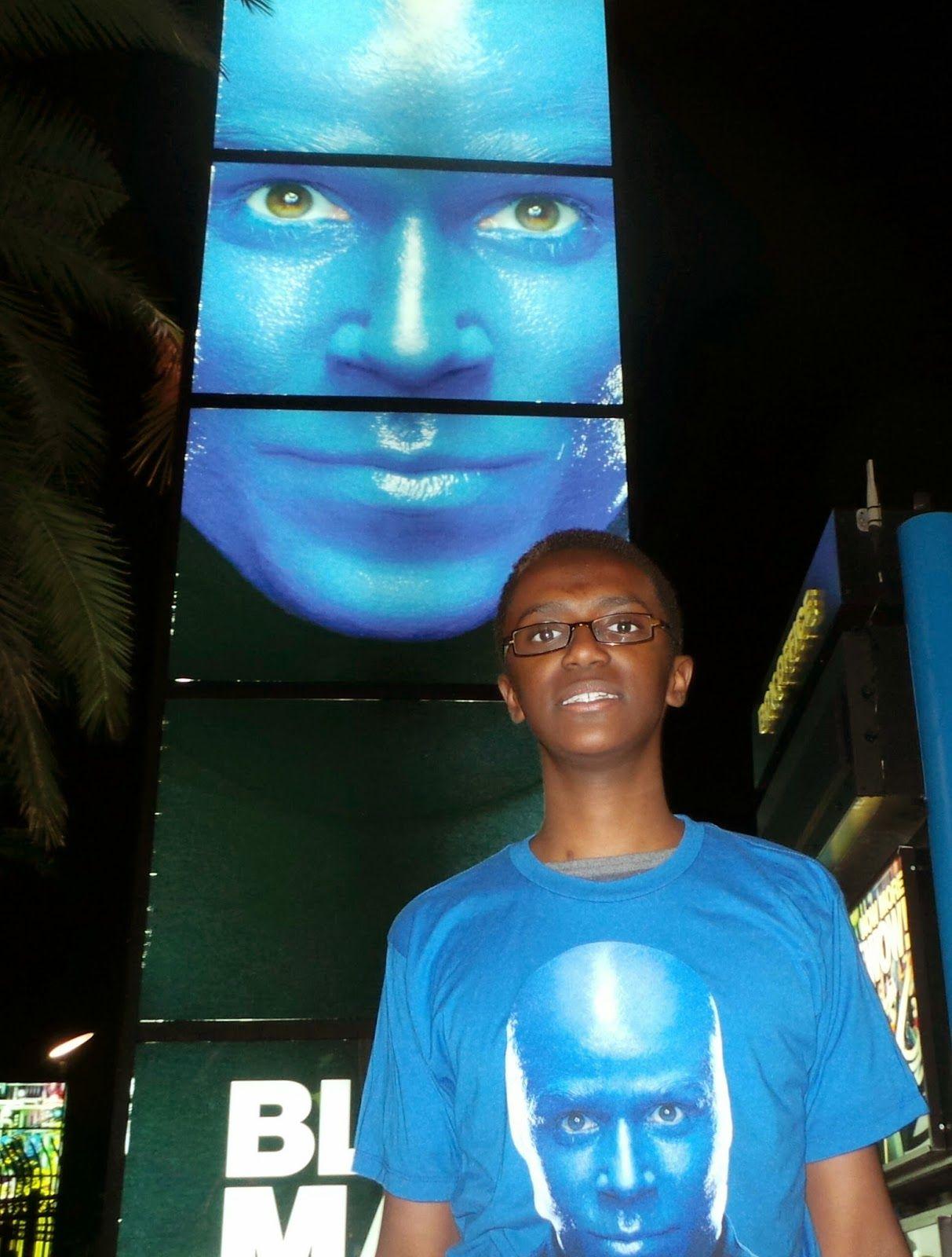 TRAVEL REVIEW Blue Man Group at Universal Orlando CityWalk AWESOME FamilyForward