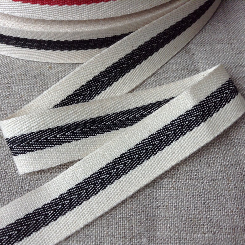 5 Yards Color Black Twill Tape 1//2 Wide