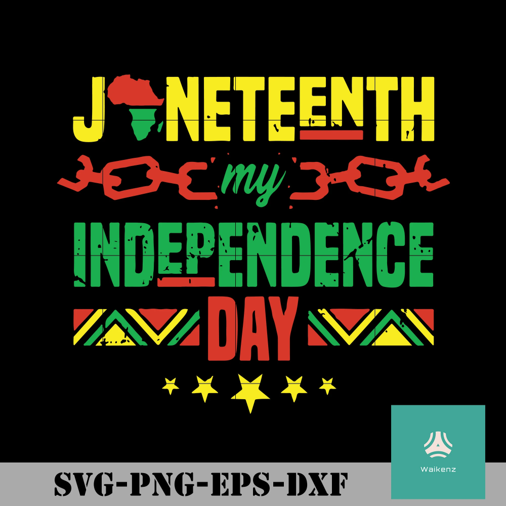 Is My Independence Day svg, png, dxf, eps