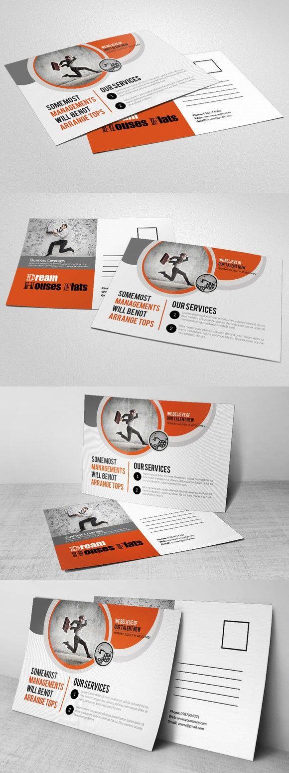 100 Design Layouts Postcards Ideas