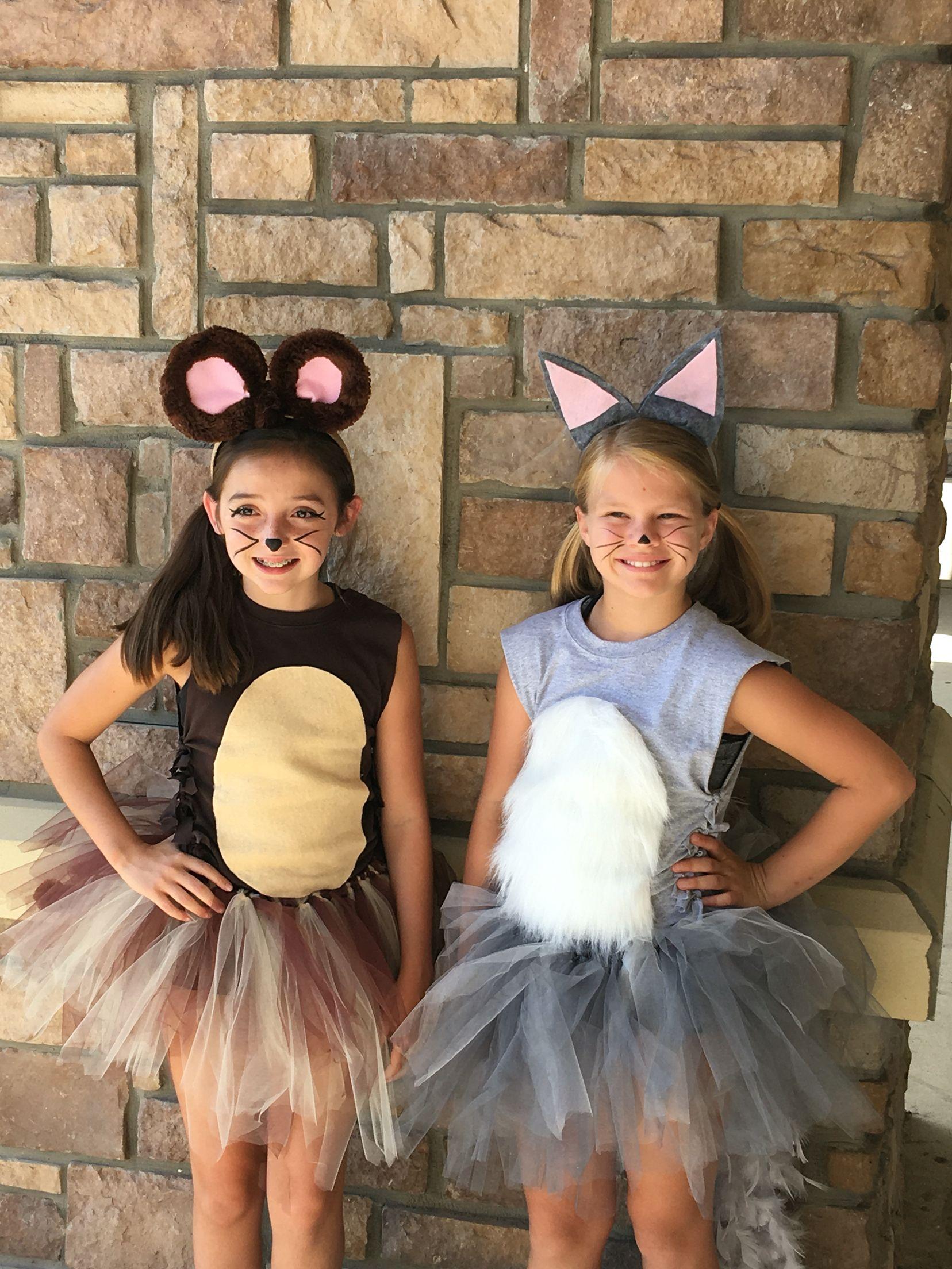 Tom and Jerry diy costume cheer camp Tu Tu