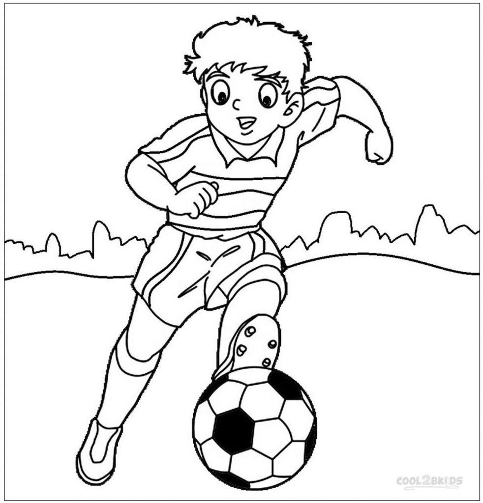 30 Disegno Disegni Calciatori Da Colorare Per Bambini Calciatori