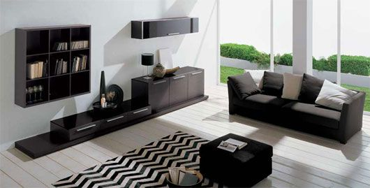 amenajare living in stil minimalist - Minimalist Interior Design Living Room