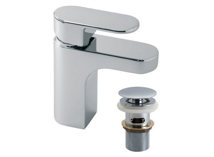 VADO LIFE Chrome Sink Basin Mixer Tap with Clic-Clac Waste - LIF-100/CC-C/P | eBay