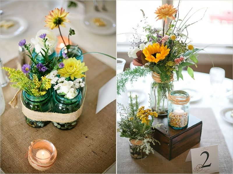 Easy DIY Wedding Centerpieces (With images) Wedding