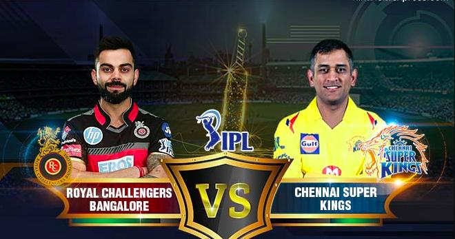 Chennai Super Kings Match Vs Royal Challenger Banglore Ipl 2019 Match 1 M A Chidambaram Stadium Chennai H Chennai Super Kings Royal Challengers Bangalore Ipl