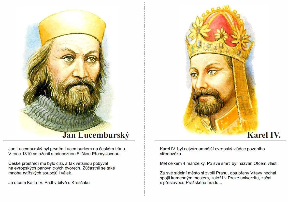 Jan Lucemburský a Karel IV. | History, Fictional characters, Zelda  characters
