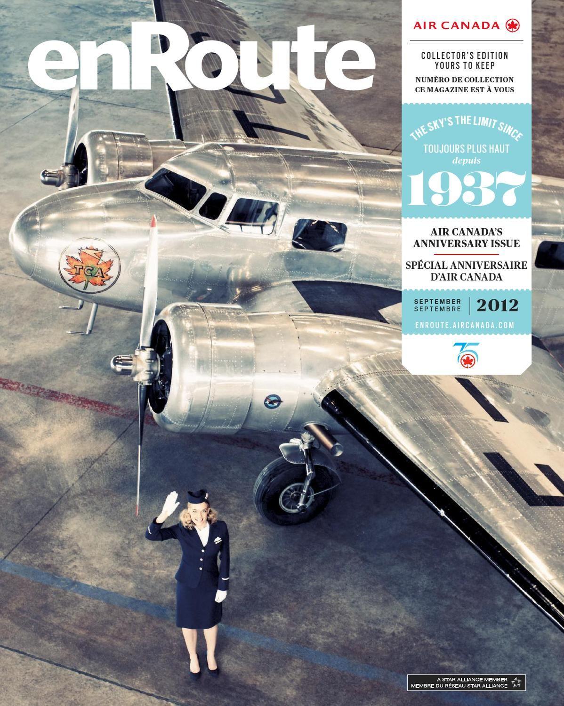 the latest c7500 805c5 Air Canada enRoute Magazine – September   septembre 2012