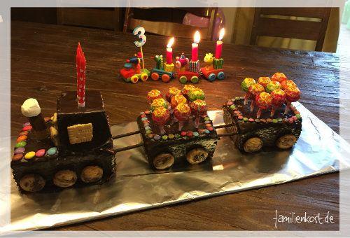 Eisenbahn Kuchen Rezept Kuchen Kindergeburtstag Kinder Party