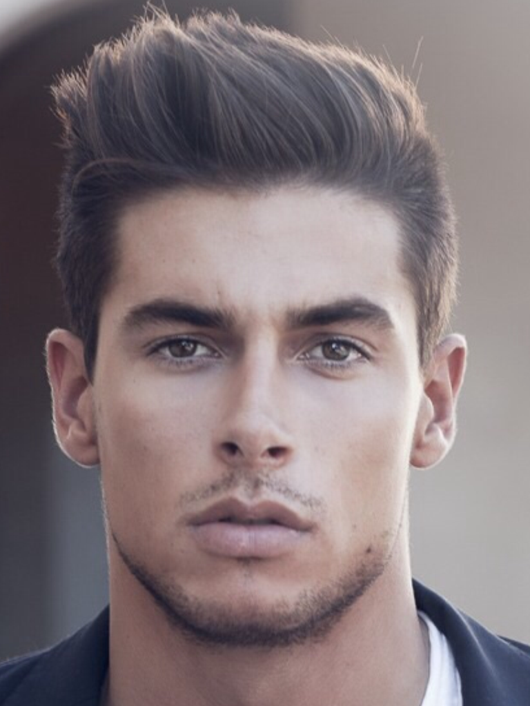 Guy Hairstyle Pleasing Just The Right Amount Of Facial Hair Men's Hairstyle  Pinterest