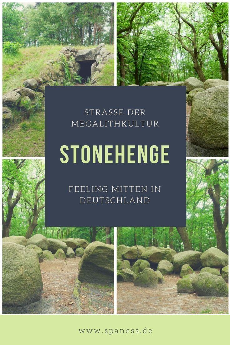 Unterwegs auf der Straße der Megalithkultur: Stonehenge Feeling -  Wander und Roadtrip Tipp. Stonehenge in Deutschland – unterwegs auf der Straße der Megalithkultur.