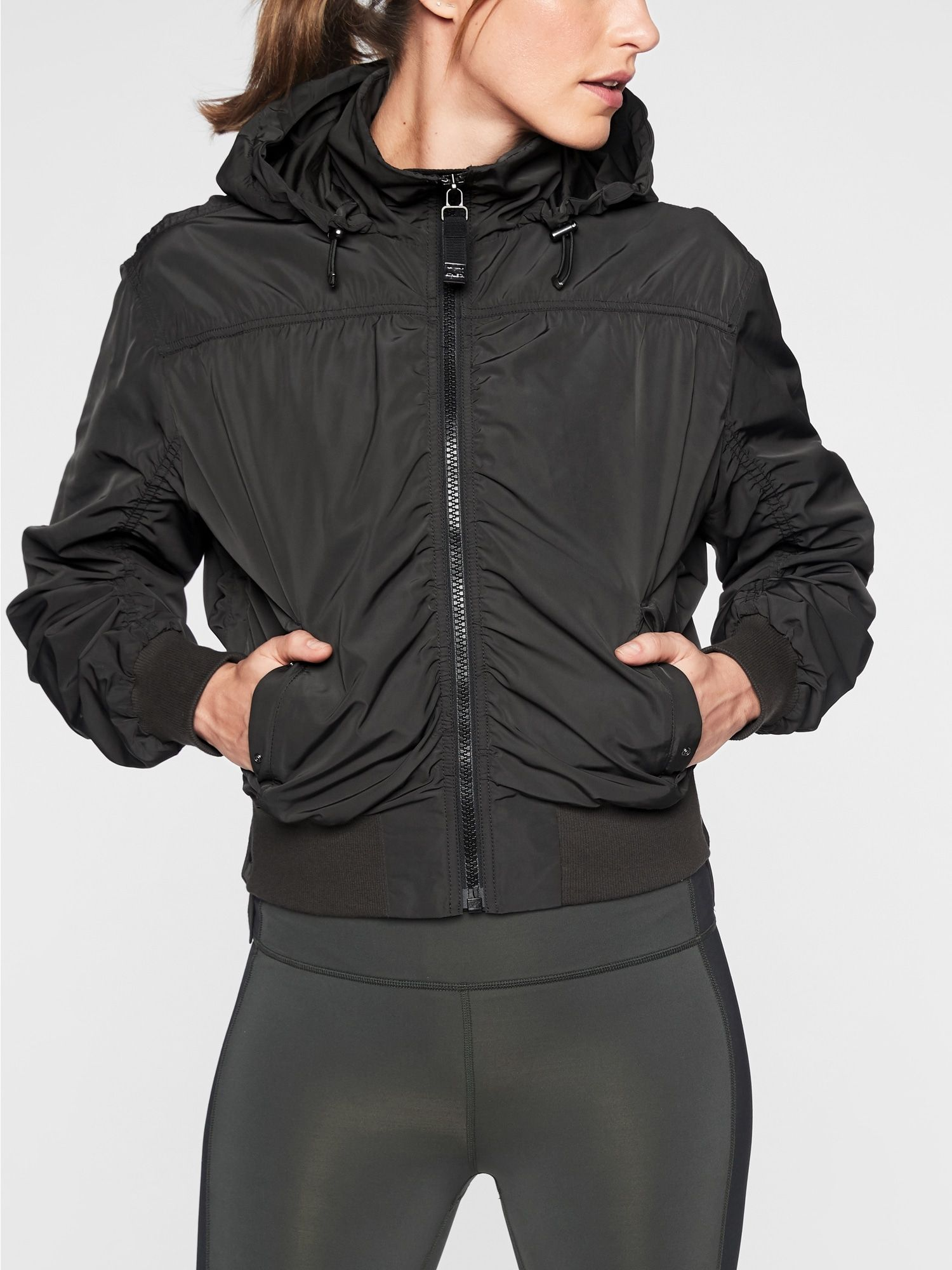 Point Reyes Bomber Athleta In 2021 Petite Workout Clothes Hiking Outfit Workout Clothes Sale [ 2000 x 1500 Pixel ]