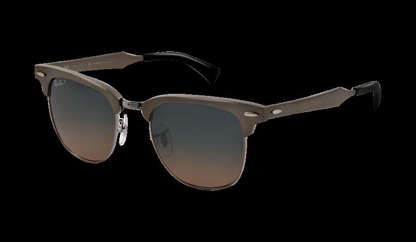ray ban clubmaster sunglasses aluminium  niet die uitgehypte aviator style, maar de ray ban clubmaster in aluminium.